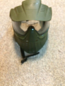 Paintball mask double lens