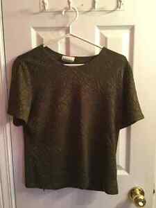 Dark Green Dress Top (Medium) Kingston Kingston Area image 1