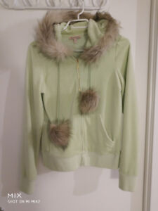 Brand New Juicy Couture Jacket Light Green