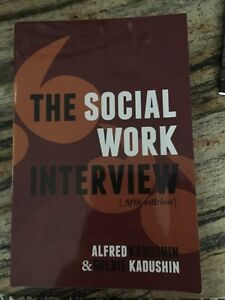 The Social Work Interview (5th Edition)