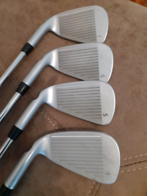 Ping i25 irons blue dot. 4 to pw