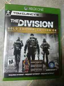 Tom Clancy's The Division gold edition Strathcona County Edmonton Area image 1