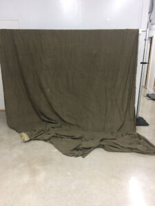 10FX24F Brown NEW Painted Background/Backdrop Double sides