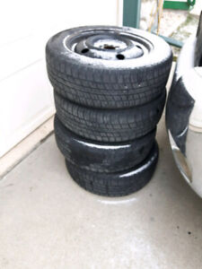 Subaru Rims & Tyres 195/ 60/15May fit other cars   5 x 100mm