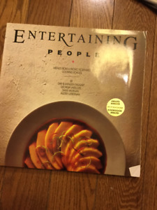 """ENTERTAINING PEOPLE"" COOKBOOK"