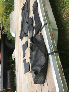 Allen atv bags and bar hand covers