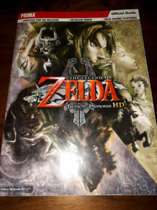 The legend of Zelda twilight princess hd prima strategy guide.