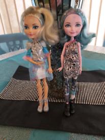 2 Monster High Dolls set 2