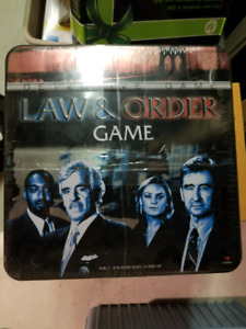 Law & Order Board Game