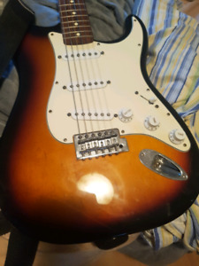 MIM fender strat  - trade or cash