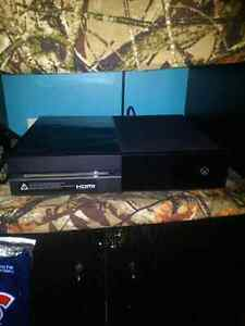 Xbox One with tons of add-ons and games!