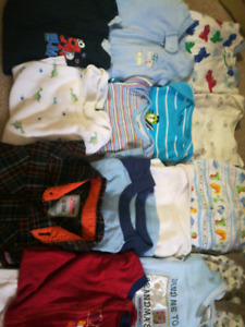 Fall/winter 0-3 month LOT -  Brand names