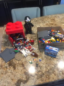 Lot of Free Play Lego with Lego Man Alarm Clock
