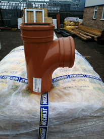 Polypipe 160mm Square branch