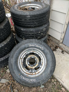 Cragar rims and tires