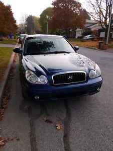 Hyundai Sonata V6. Leather + sunroof+ heated seats Gatineau Ottawa / Gatineau Area image 2