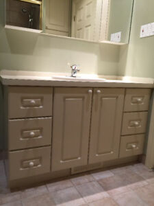 REVISED PRICE FOR BATHROOM CABINETS & SHOWER DOOR