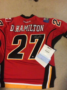 signed jersey Calgary flames