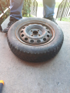 175/65r14 winter tire $40