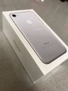 SEALED APPLE iPHONE 7 PLUS 256GB/ROGERS&FIDO/SILVER
