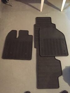 Ford Edge rubber mats