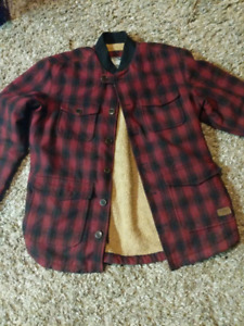 Roots flannel jacket
