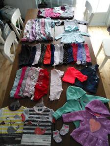 Vêtements fille 6 mois