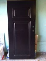 "Brand New Black Door - 36"" X 80"""