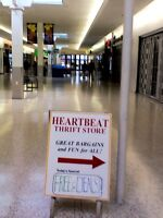 BAG SALE in HEARTBEAT Thrift Store/BayView Mall