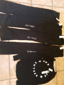 NEW Yoga Pants with tags xl youth