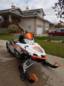 Two 2009 Arctic Cat Crossfire 800