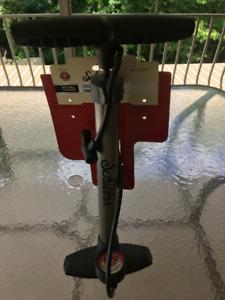 Pompe a souffler les pneus de vélos