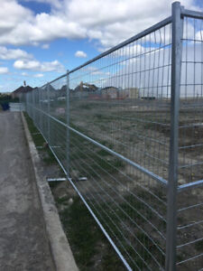 6x10 Temporary Construction Fence Panels Galvanised