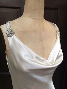 Gorgeous Custom Made Wedding Dress - Silk Charmeuse
