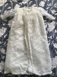 Baby christening gown