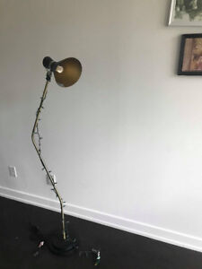 STRUCTUBE Standing Lamp - Black and Gold