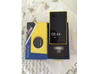 **Available Now** Excellent Condition - Nokia Lumia 1020 yellow, 41 Megapixel camera. Unlocked.