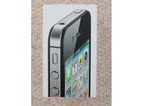 iPhone 4S 32GB in black - unlocked and boxed as new