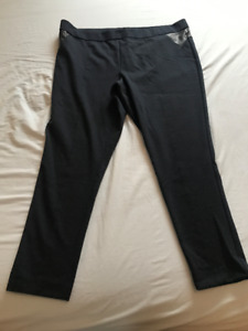 PANTALONS STYLE LEGGINGS COMME NEUFS ADDITIONELLE TAILLE 3X