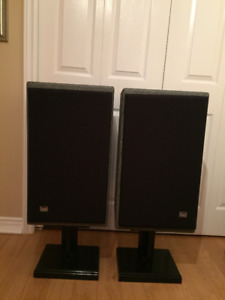 Vintage Cerwin Vega V10 Stereo Speakers - Good Condition