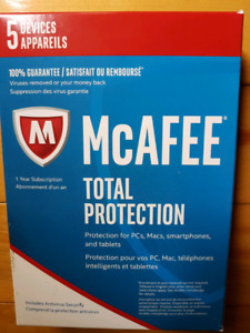 McAFEE TOTAL PROTECTION ANTI VIRUS