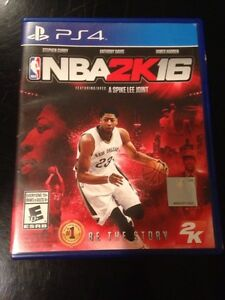 NBA2K16 for the Ps4 Cambridge Kitchener Area image 1