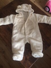 Baby winter suit 6-9 months.