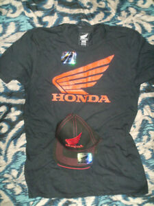HAT and T-SHIRT