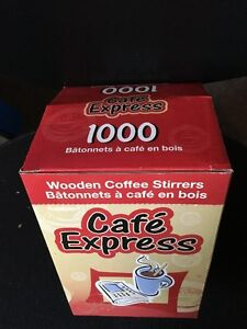 """FOR SALE:  7"""" wooden Coffee stirrers (Osgoode villiage)"""
