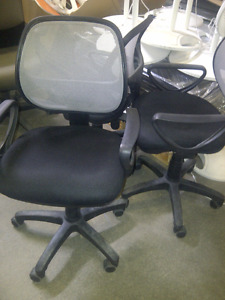 Black/Grey Office Chairs