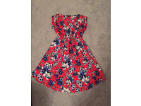 Maternity Floral Dress Size 10 New Look - Like New
