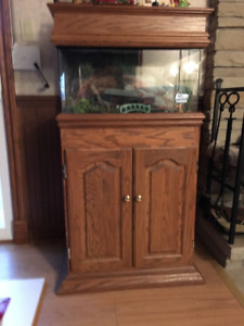 Fish tank, stand & accessories