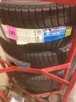 Mustang winter tires -- Michelin