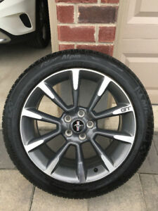 2012 Ford Mustang GT CS 19 inch wheels & Winter Michelin Tires